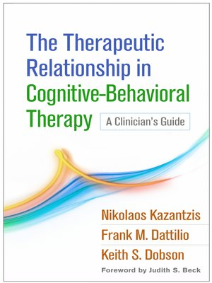 cover image of The Therapeutic Relationship in Cognitive-Behavioral Therapy