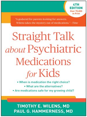 cover image of Straight Talk about Psychiatric Medications for Kids