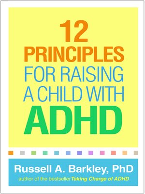 cover image of 12 Principles for Raising a Child with ADHD