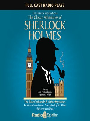 cover image of Sherlock Holmes: The Blue Carbuncle & Other Mysteries