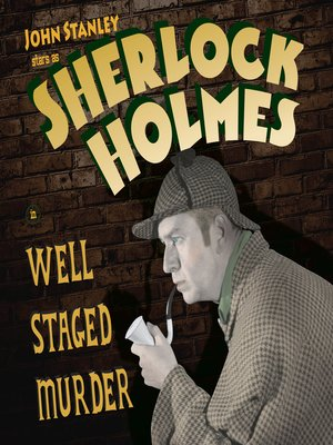 cover image of Sherlock Holmes: Well Staged Murders