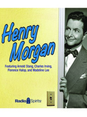 cover image of Henry Morgan