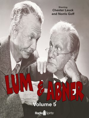 cover image of Lum & Abner, Volume 5
