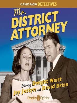 cover image of Mr. District Attorney