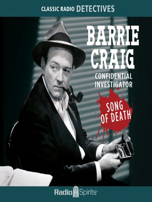 cover image of Barrie Craig: Song of Death
