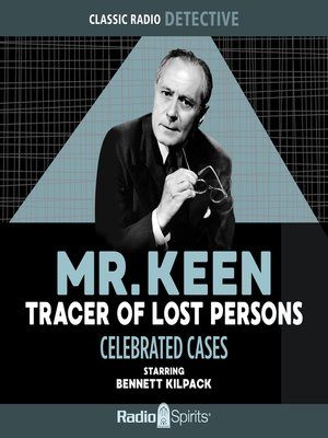cover image of Mr. Keen, Tracer of Lost Persons: Celebrated Cases