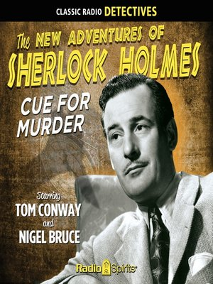 cover image of Sherlock Holmes: Cue for Murder