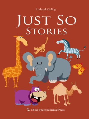 cover image of Just So Stories(如此故事)