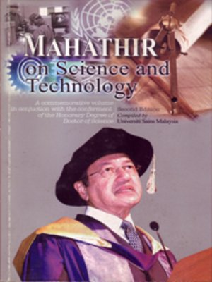cover image of Mahathir on Science and Technology