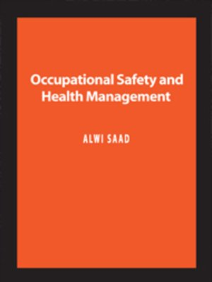 cover image of Occupational Safety and Health Management