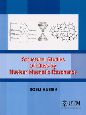 cover image of Structural Studies of Glass by Nuclear Magnetic Resonance