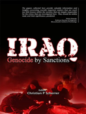 cover image of Iraq: Genocide by Sanctions