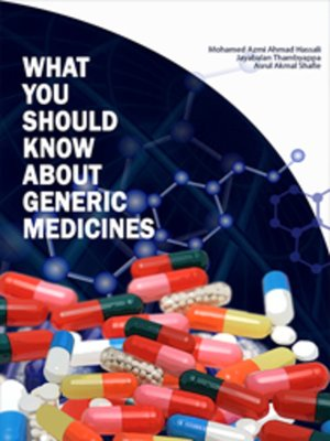 cover image of What You Should Know About Generic Medicines