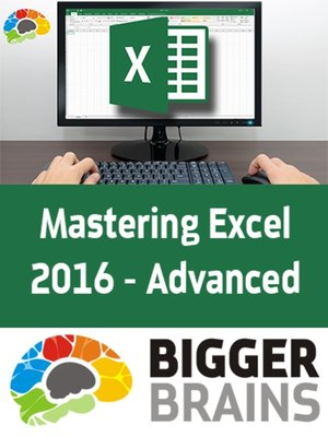 cover image of Mastering Excel 2016 - Advanced