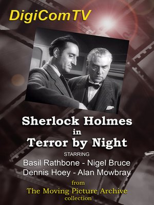 cover image of Sherlock Holmes in Terror by Night