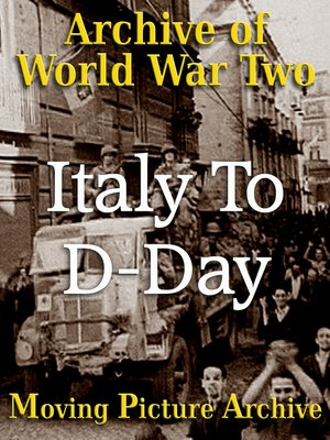 cover image of Italy To D-Day