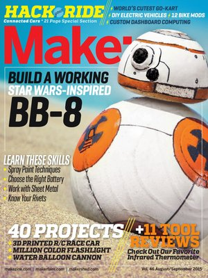 cover image of Make Magazine