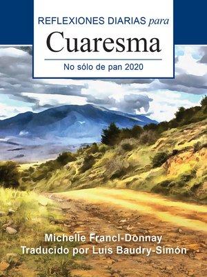 cover image of No sólo de pan