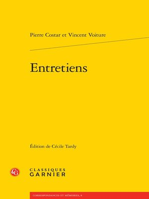 cover image of Entretiens