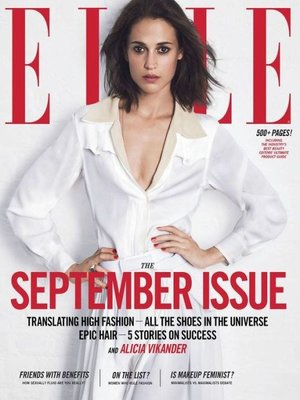 Elle - US edition by Hearst.                                              AVAILABLE Periodicals.