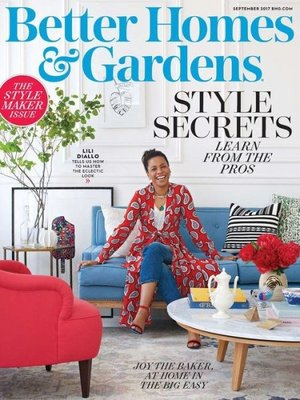 cover image of Better Homes and Gardens