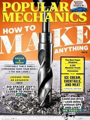 cover image of Popular Mechanics