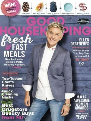 cover image of Good Housekeeping - US edition