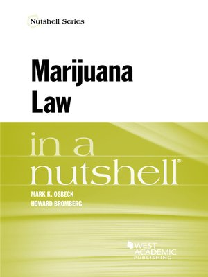 cover image of Marijuana Law in a Nutshell