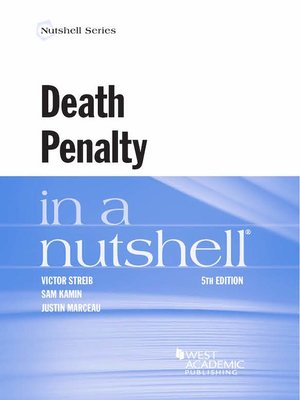 cover image of Death Penalty in a Nutshell