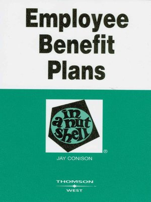 cover image of Employee Benefit Plans in a Nutshell, 3d