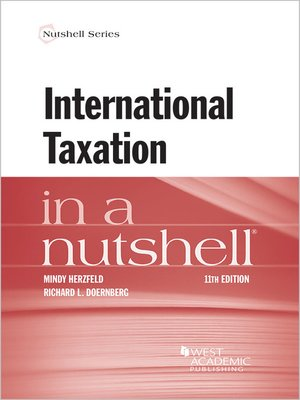 cover image of International Taxation in a Nutshell