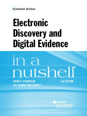 cover image of Electronic Discovery and Digital Evidence in a Nutshell