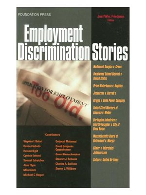 cover image of Employment Discrimination Stories