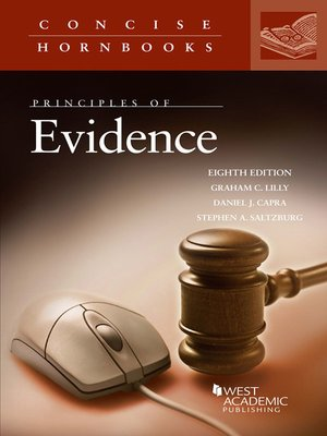 cover image of Principles of Evidence