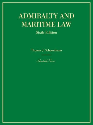 cover image of Admiralty and Maritime Law