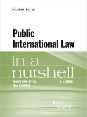 cover image of Public International Law in a Nutshell