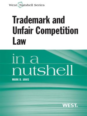 cover image of Trademark and Unfair Competition in a Nutshell