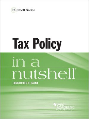 cover image of Tax Policy in a Nutshell