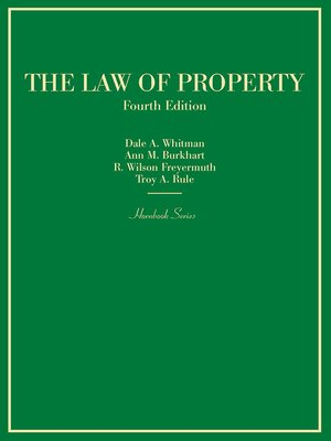 cover image of Law of Property