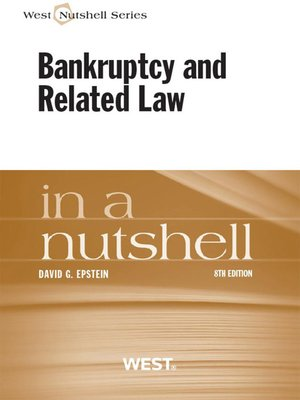 cover image of Epstein's Bankruptcy and Related Law in a Nutshell, 8th