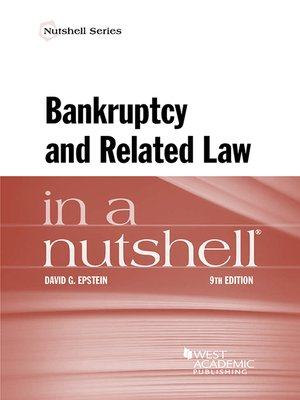 cover image of Bankruptcy and Related Law in a Nutshell