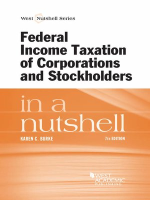 cover image of Federal Income Taxation of Corporations and Stockholders in a Nutshell, 7th
