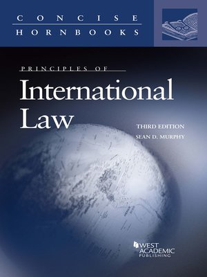 cover image of Principles of International Law