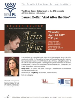 cover image of Lauren Belfer : And After The Fire - Part 2