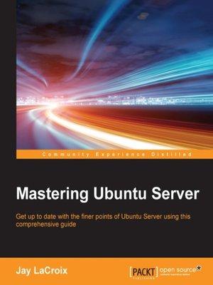 cover image of Mastering Ubuntu Server
