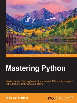 cover image of Mastering Python