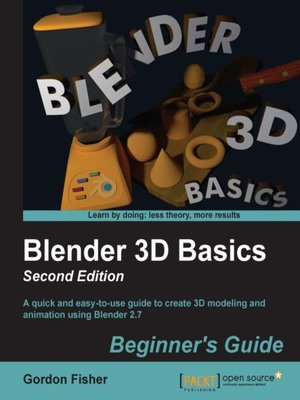 cover image of Blender 3D Basics Beginner's Guide