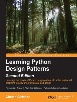 cover image of Learning Python Design Patterns