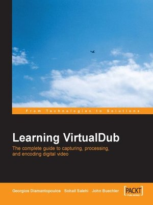 cover image of Learning VirtualDub