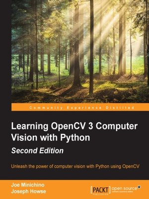 32 Results For Opencv Computer Vision With Python Joseph Howse